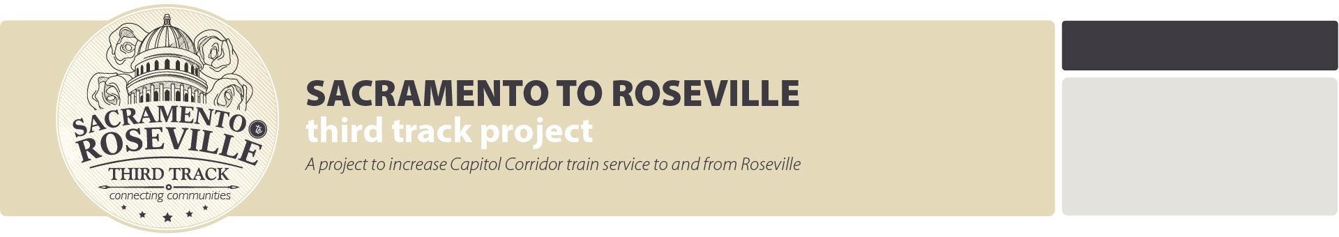 Sacramento to Roseville Third Track